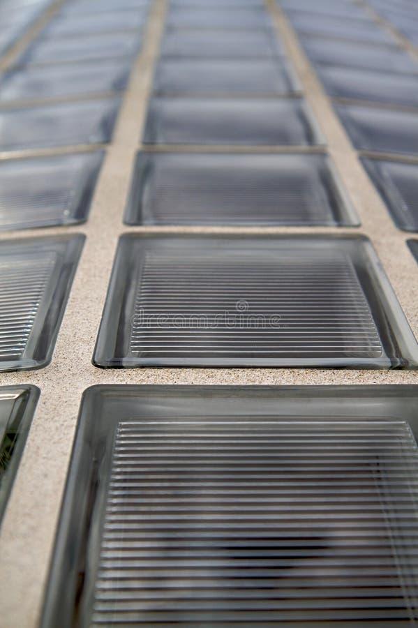 стена блока стеклянная вертикальная стоковые изображения