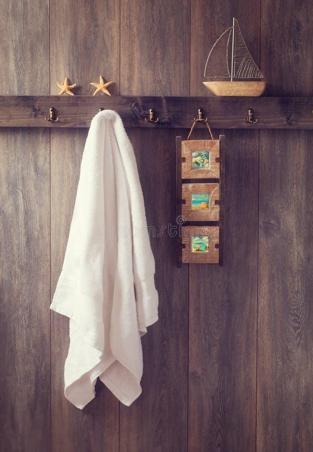 Стена ванной комнаты стоковое изображение rf