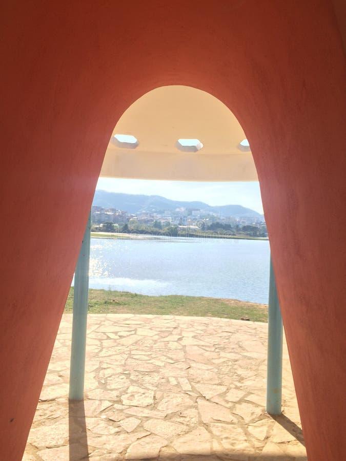 Стена воды стоковое фото