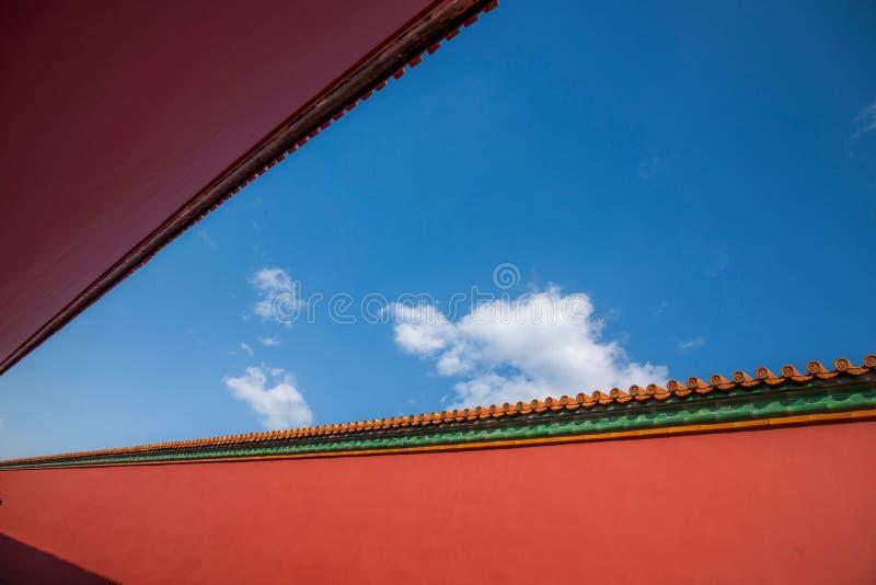 Download Стена дворца музея дворца Пекина Стоковое Изображение - изображение насчитывающей культура, ностальгия: 81806719