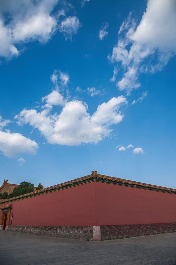 Download Стена дворца музея дворца Пекина Стоковое Фото - изображение насчитывающей высекать, ландшафт: 81806744