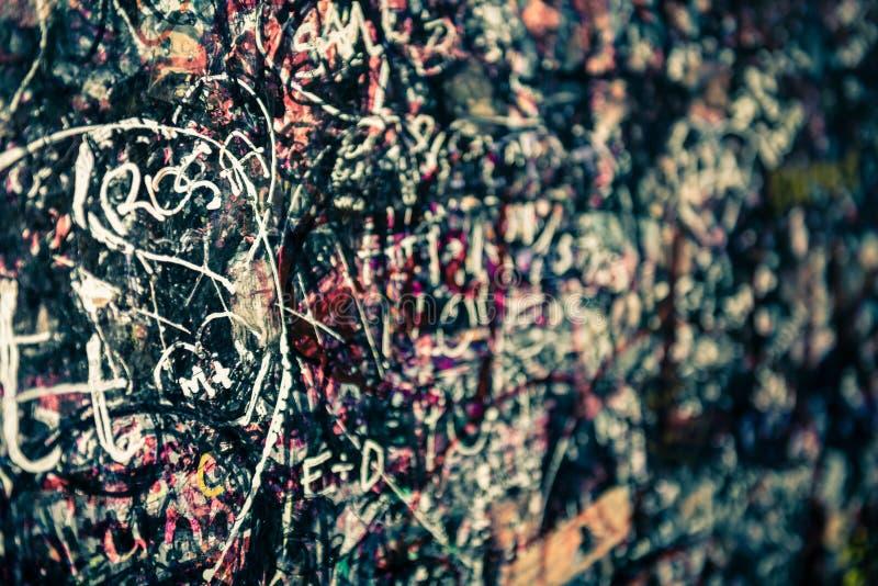 Стена вполне сообщений, Вероны, Италии стоковые фото