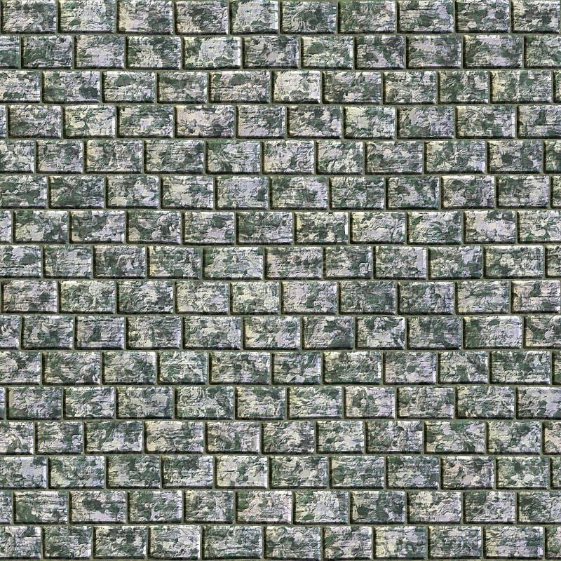 стена выдержала иллюстрация вектора