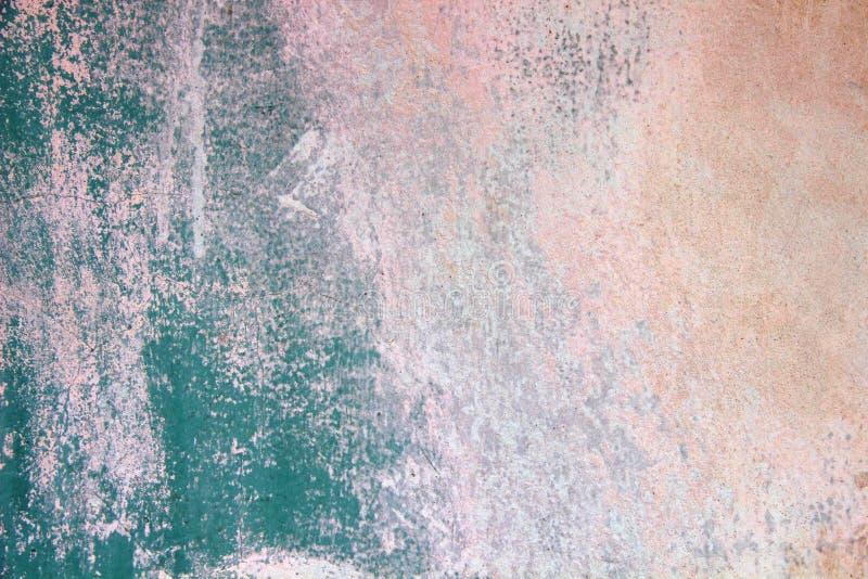 Стена голубого гипсолита старая стоковые изображения rf