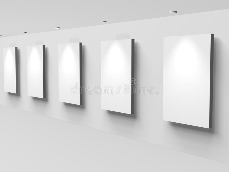 стена дисплея бесплатная иллюстрация