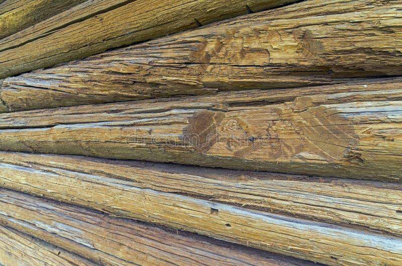 стена журнала дома старая стоковые изображения
