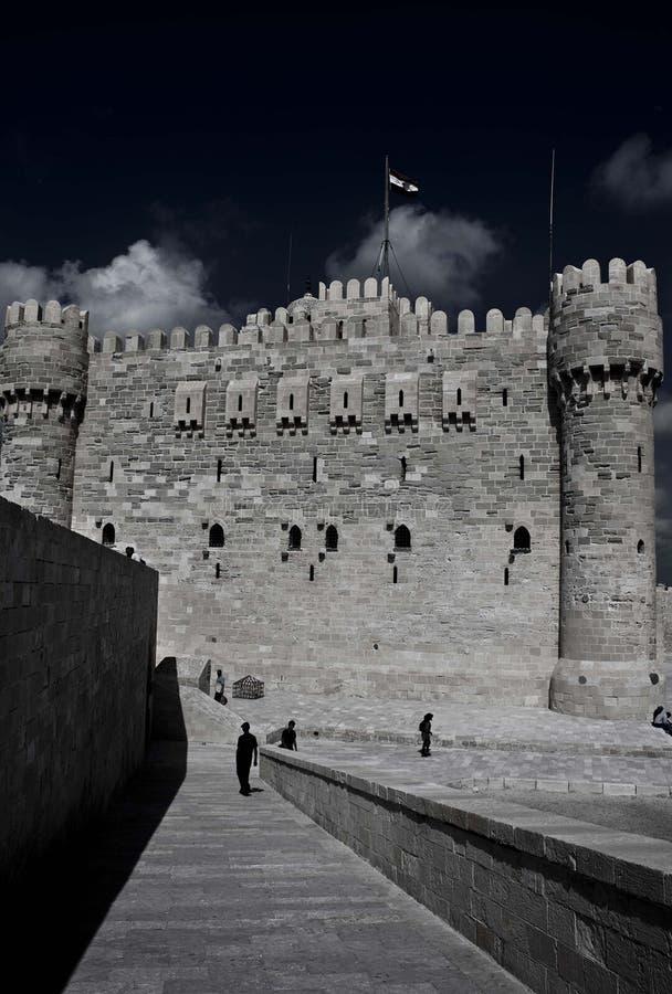 Стена замка стоковые фотографии rf