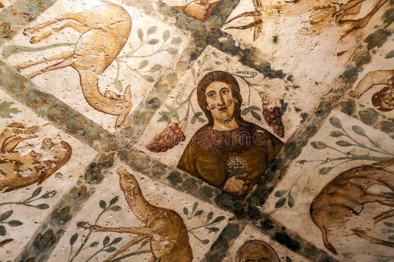 Стена замка Hanarrah стоковая фотография