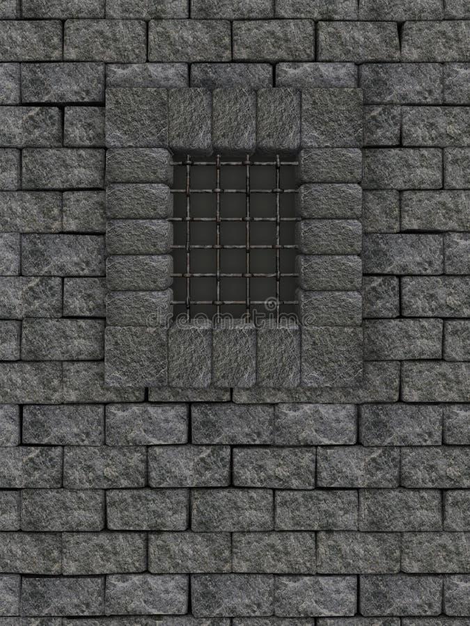 стена замока иллюстрация вектора