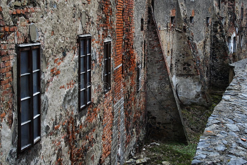 стена замока стоковое фото