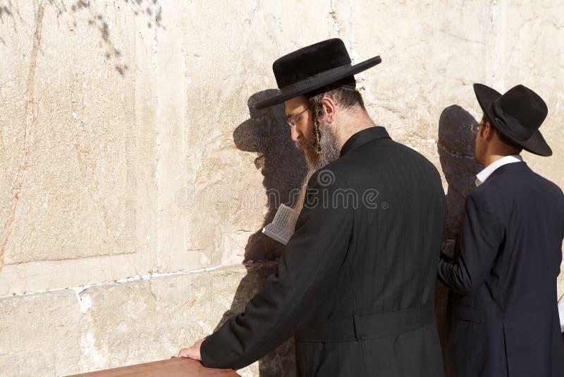 Стена Иерусалима западная стоковая фотография