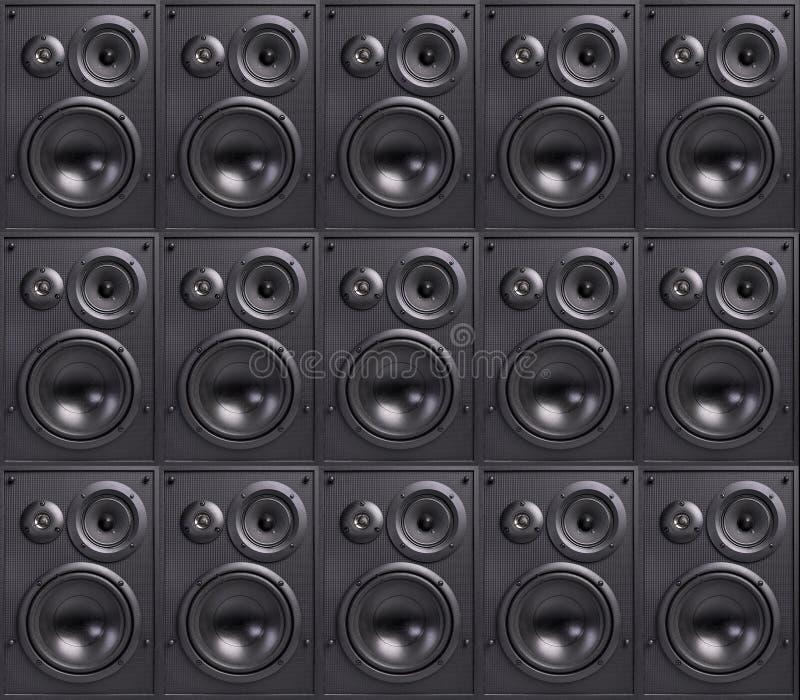 Стена дикторов стоковые изображения