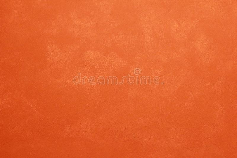 Стена имбиря сельская старая с царапиной огорчила патину стоковое фото rf