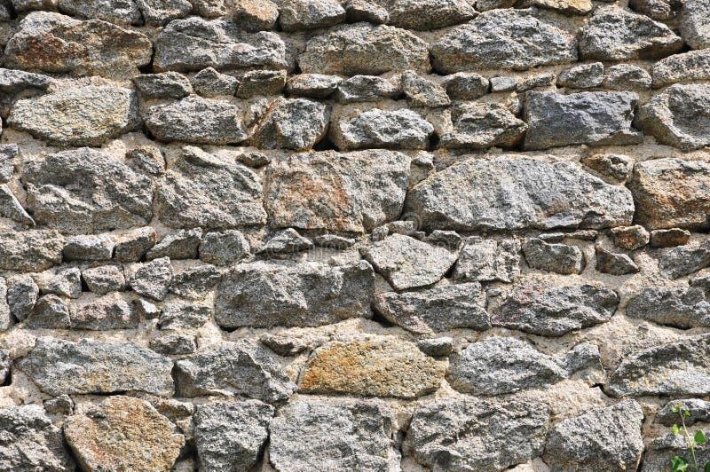 Стена камней с скачками размером стоковое изображение rf