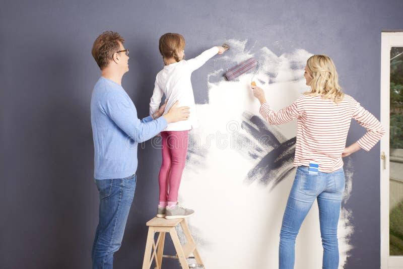 Стена картины стоковая фотография