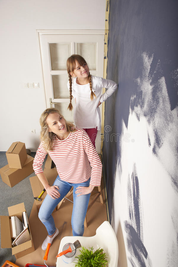 Стена картины стоковое фото rf