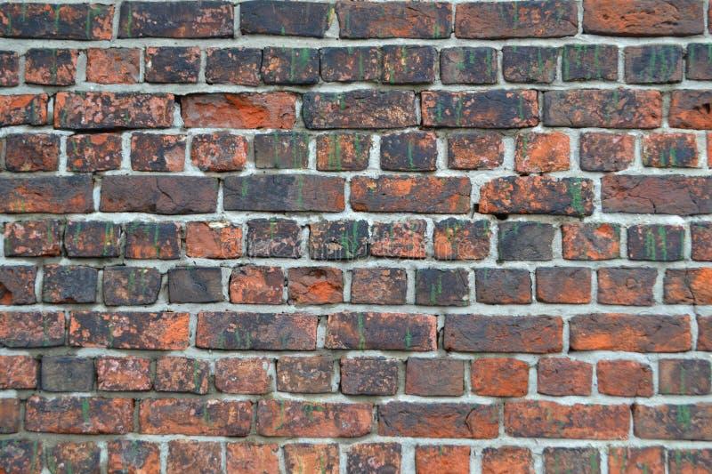 стена кирпичей старая красная стоковое изображение rf