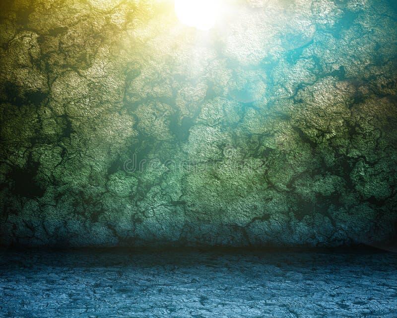 стена коричневого пола подземелья каменная бесплатная иллюстрация