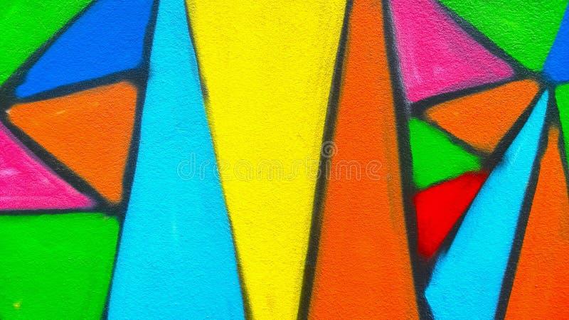 Стена краски граффити стоковая фотография