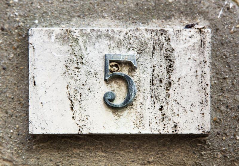 стена номера блока стоковые изображения