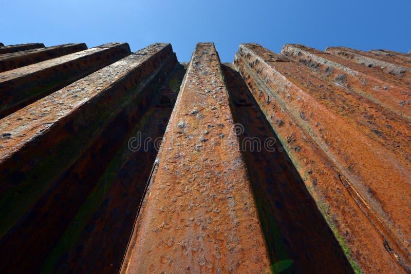 Стена обороны моря стоковая фотография rf