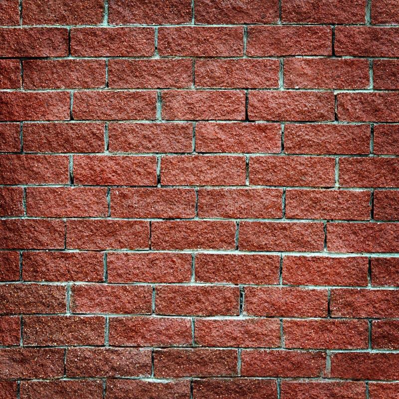 Стена от конца красного кирпича вверх стоковые фотографии rf