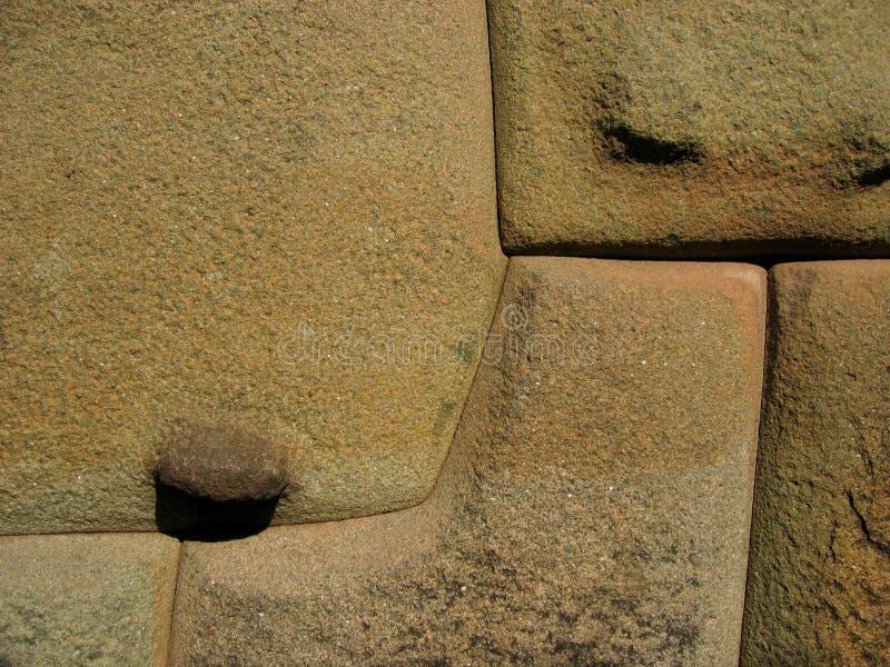 стена Перу inca стоковая фотография rf