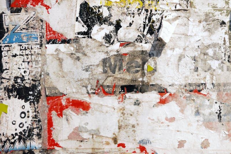стена плаката стоковое изображение rf