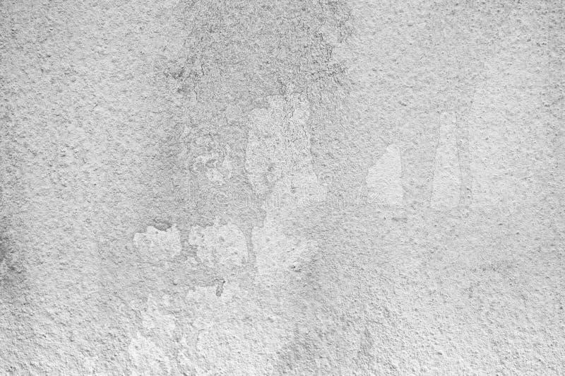 Стена покрасила белый и светлый - серая текстура цветов стоковые фото