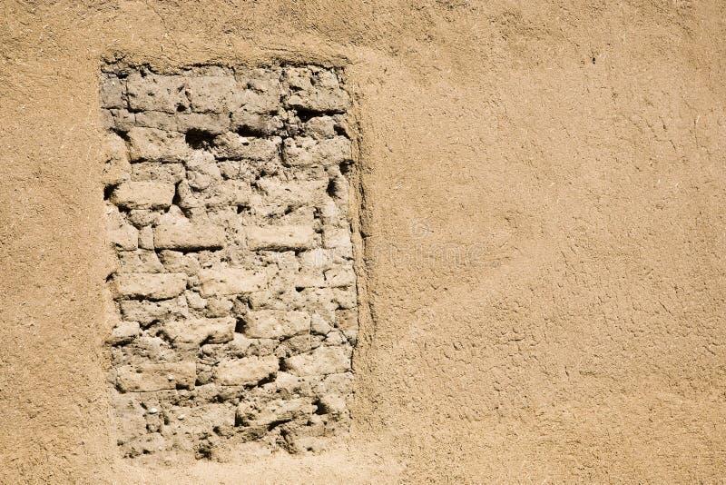 стена покрашенная глиной стоковые фотографии rf