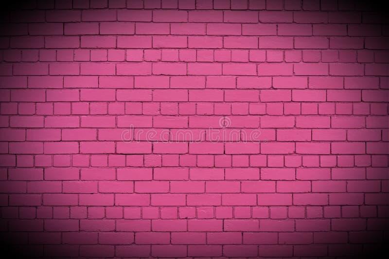 Стена покрашенная пастелью розовая стоковое изображение