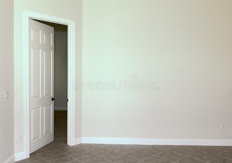 стена пустой двери стоковая фотография