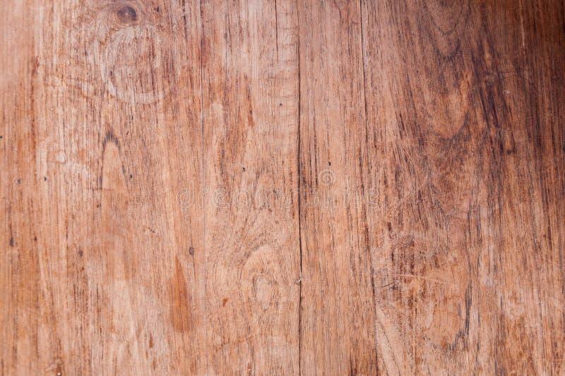Стена планки твёрдой древесины Teak, текстурирует старую древесину стоковые изображения rf