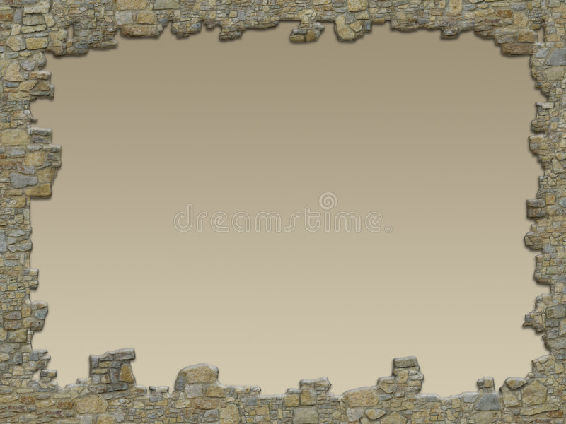 стена рамки стоковое изображение rf
