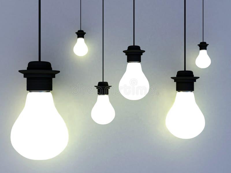 стена светильников бесплатная иллюстрация