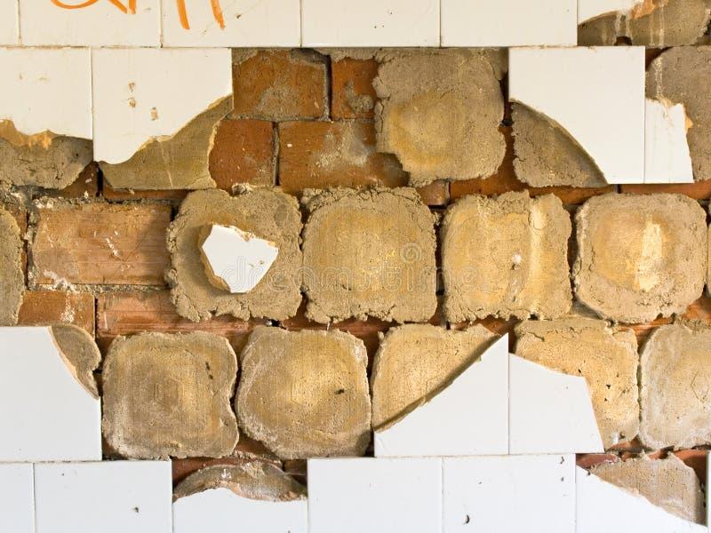 стена серии grunge стоковая фотография