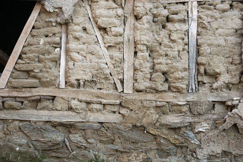 Стена старого стиля стоковое фото