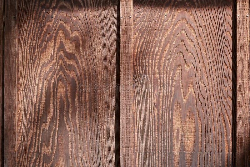 Стена текстурированная древесиной стоковая фотография