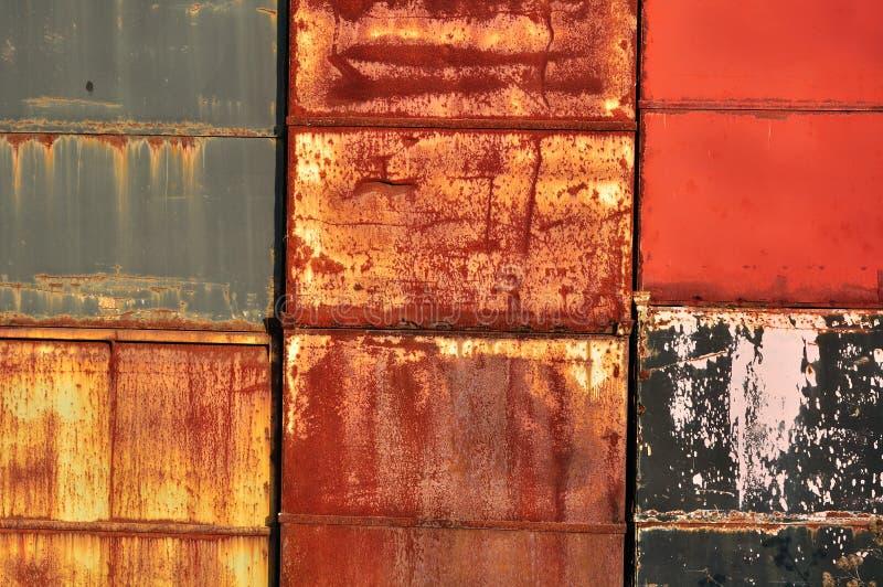 стена текстуры металла стоковая фотография