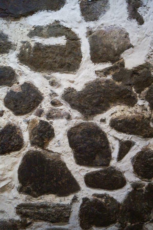 Стена текстуры предпосылки средневекового европейского замка стоковые фото