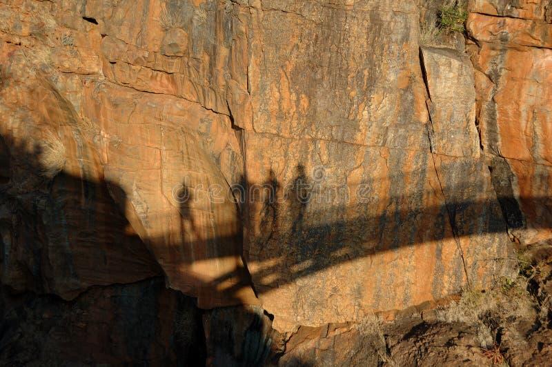 стена тени стоковое фото rf
