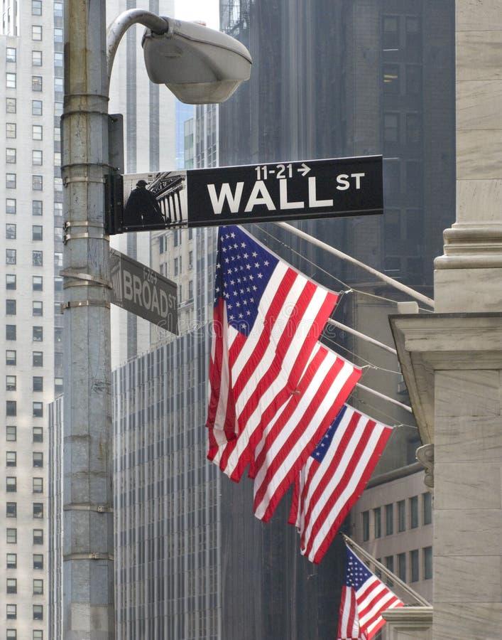 стена улицы nyc стоковое изображение rf