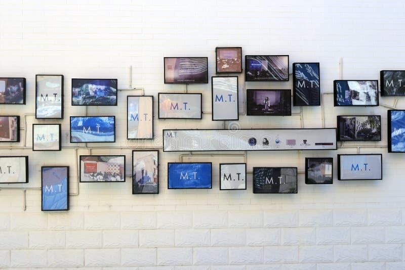 Стена фото стоковое фото rf
