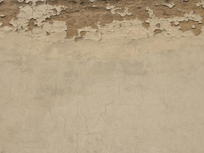 Стена цемента Grunge конкретная с отказом, большим для вашей предпосылки дизайна и текстуры стоковое изображение rf