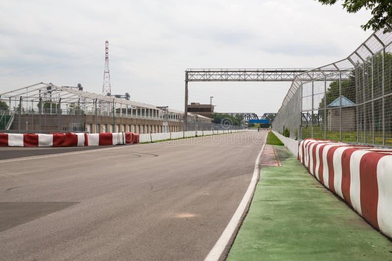 Стена цепи Gilles Villeneuve чемпионов стоковые изображения rf