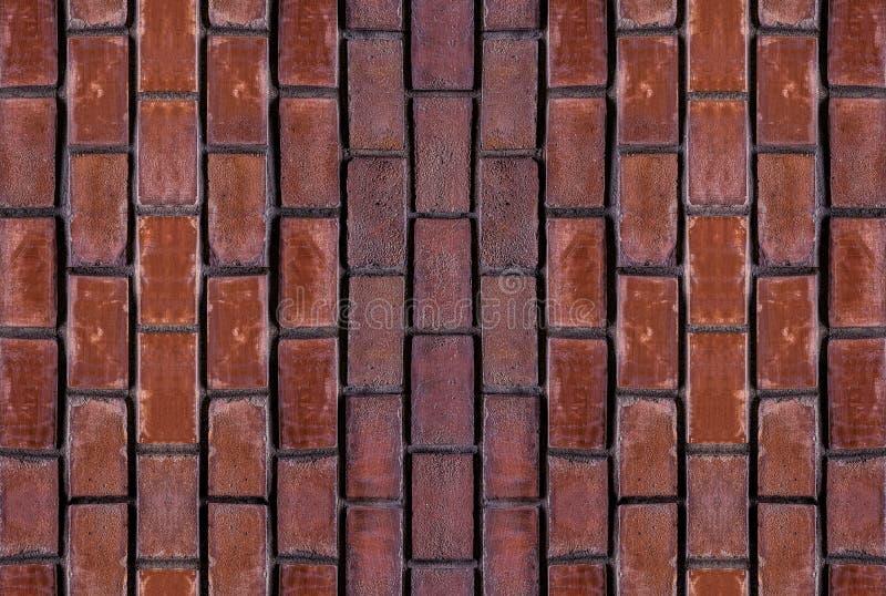 Стена элементов вертикали установленная выдержала элементы городского пейзажа блока каменной терракоты кирпича красные старого ко стоковые изображения rf