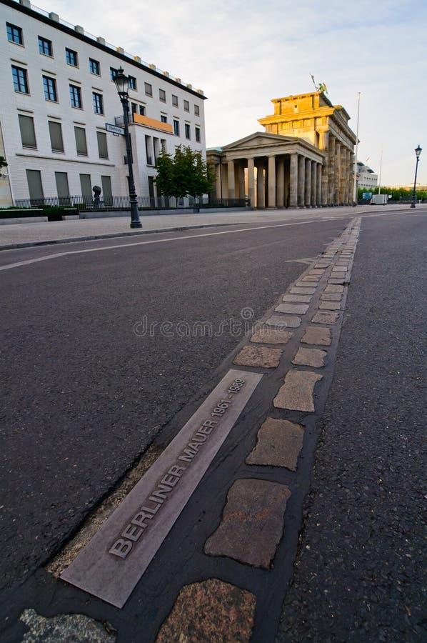 стена berlin Германии стоковое изображение rf