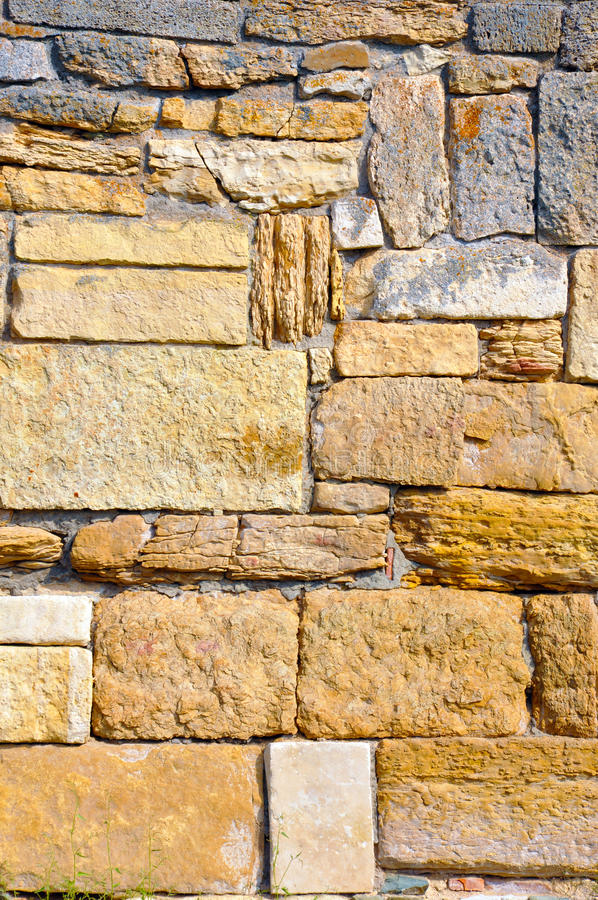 стена correde старая стоковое фото