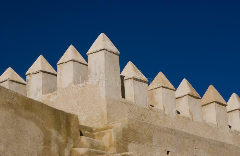 стена fez города стоковые фото