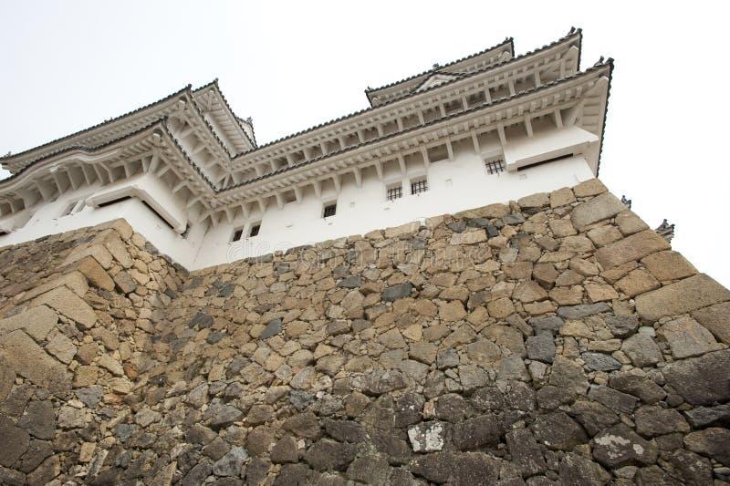 стена himeji труднопроходимая японии замока стоковое изображение